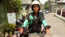 Kisah Mengharukan Driver Go-Jek yang Motornya Dibedah
