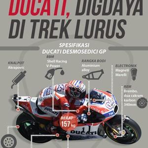Ini yang Bikin Ducati Nyeremin di Trek Lurus MotoGP
