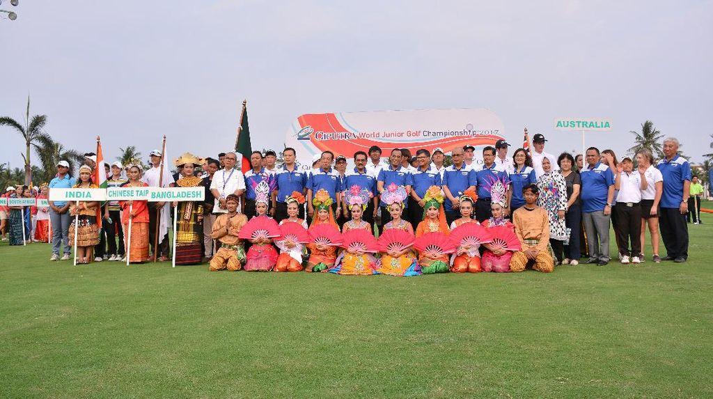 18 Negara Ikut Turnamen Golf Junior Internasional di Jakarta