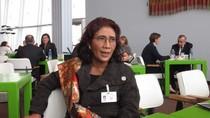 Curhat Menteri Susi yang Cedera Tangan Ditinggal Mudik Pembantu