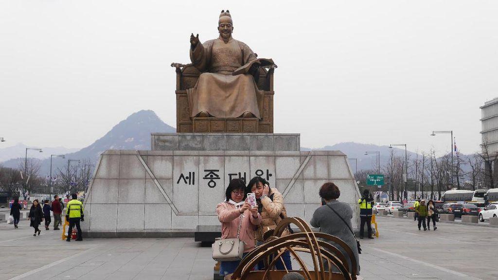 Penampakan Alun-alun Paling Hits di Seoul