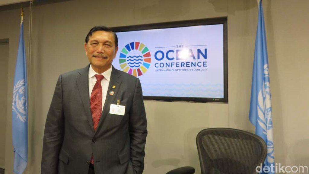 Di PBB, Luhut Bahas Sampah Plastik hingga Kisah Sukses Susi