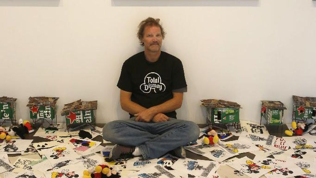 Terinspirasi dari Sampah, Jeff Gillette Pajang Karya di Galeri Ternama