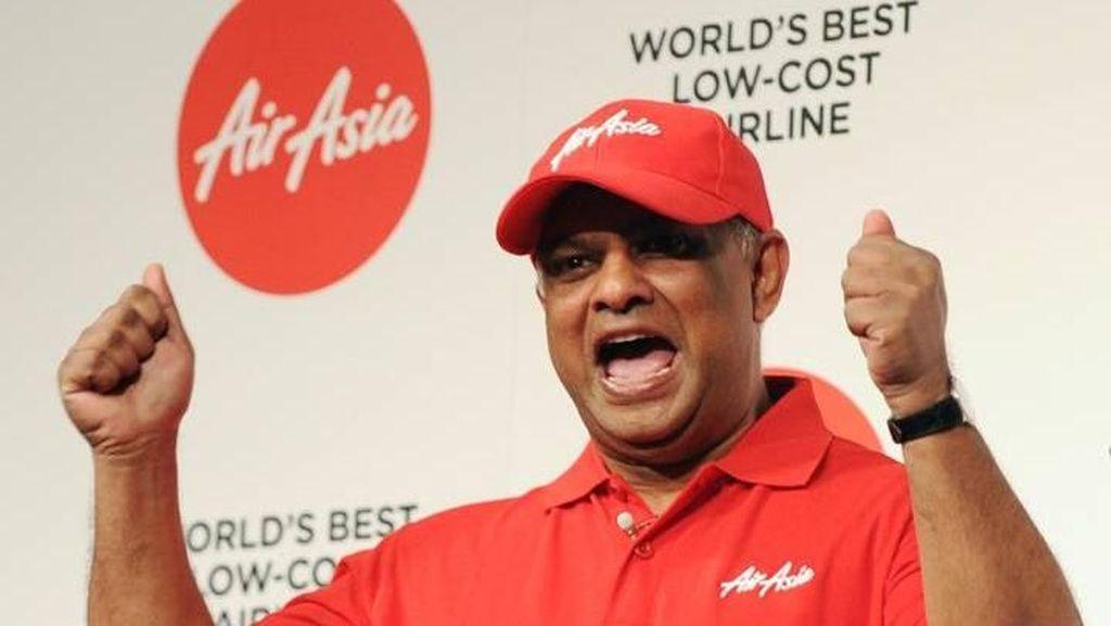 Bos AirAsia yang Nyentrik, Apa Adanya dan Baik Pada Anak Buahnya