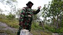 Mimpi Tentara Paruh Baya Penjaga Taman Merah Putih di Batas Negara