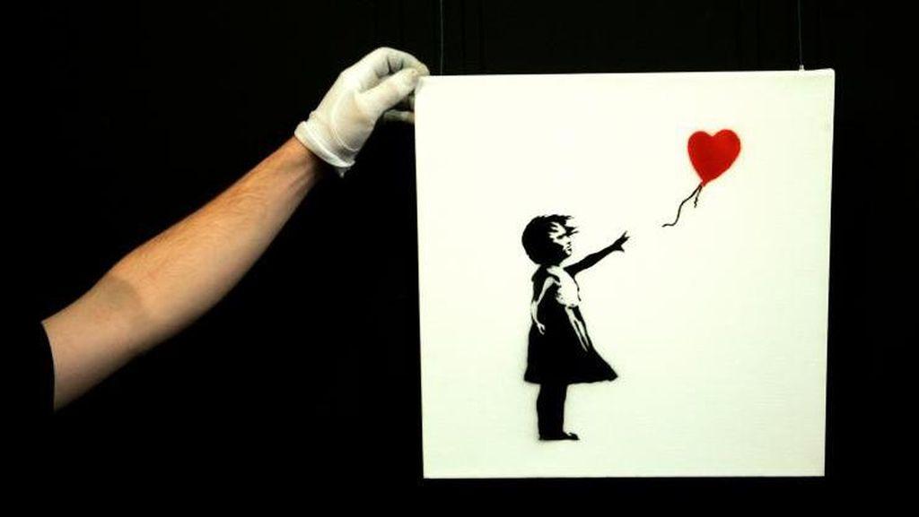 Dapat Kecaman Netizen, Banksy Akhirnya Minta Maaf