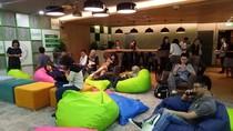 Mengintip Markas Besar Grab di Singapura, Ada Foto Jokowi