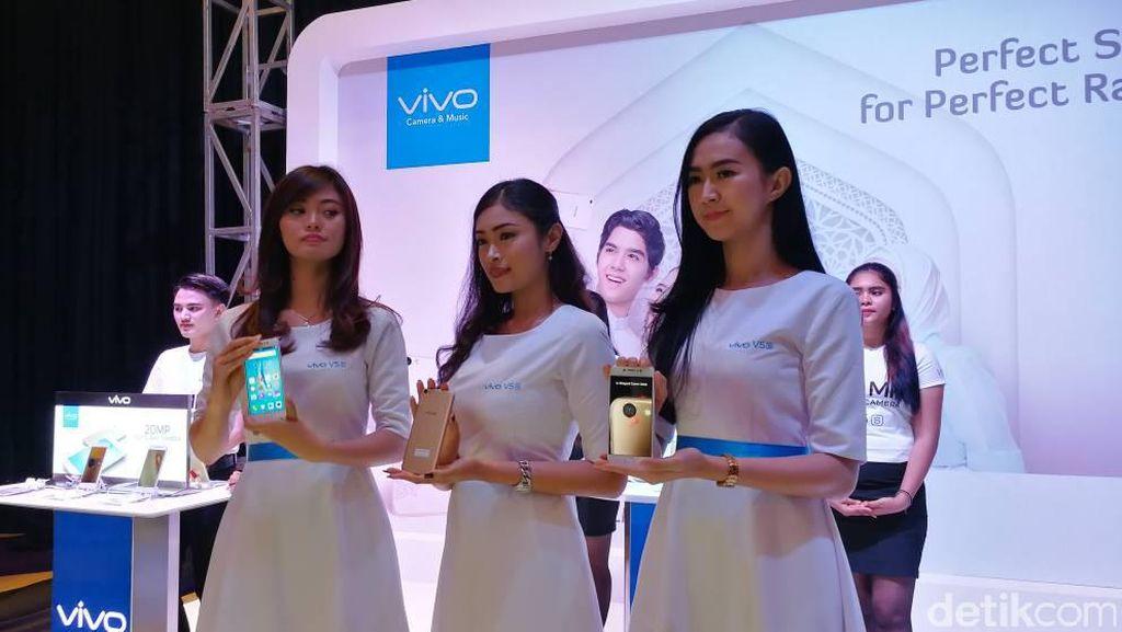 Lebih Dekat dengan Vivo V5s Pure White