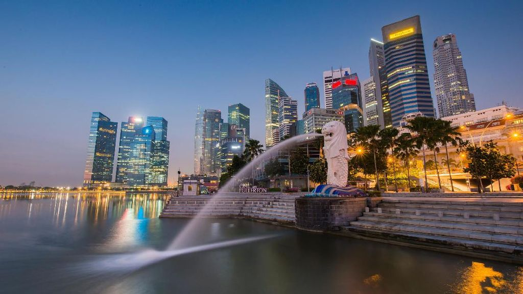Singapura Negara Aman, Bikin Turis Jadi Nyaman