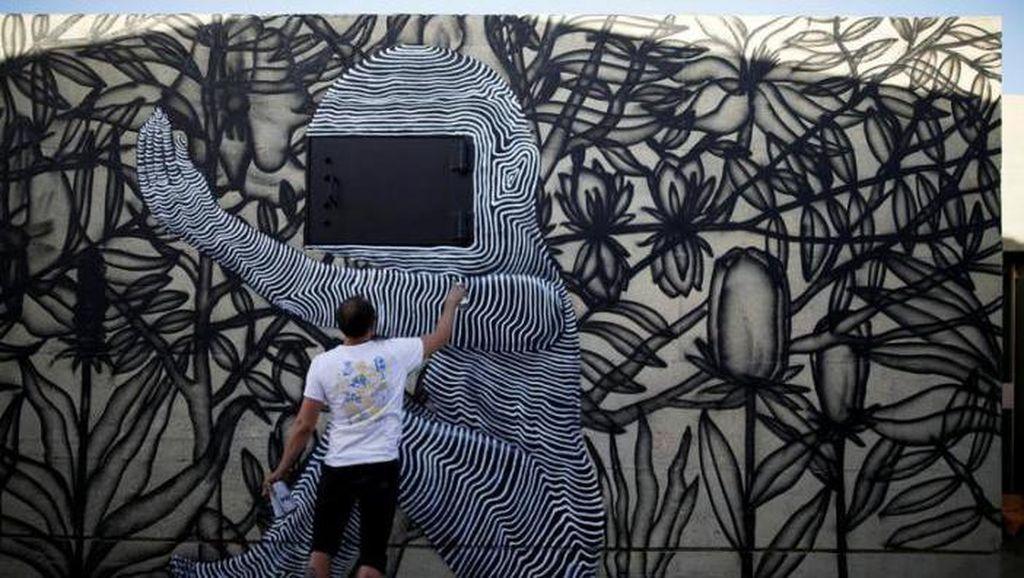 Seni Jalanan Merambah Israel dan Yordania