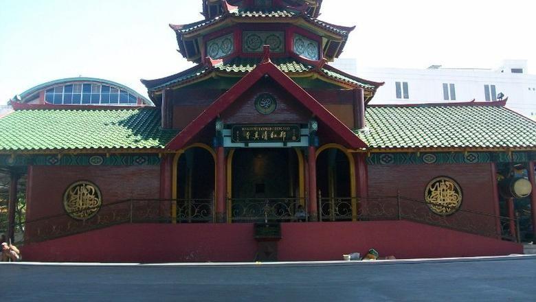 Masjid Cheng Hoo di Surabaya (Rois/detikTravel)