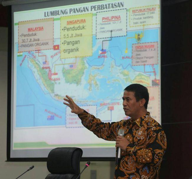Bagan Rencana Indonesia Menjadi Lumbung Pangan Dunia | detik
