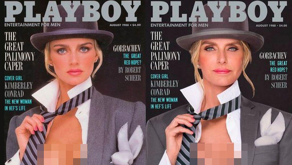 Ketika Model Playboy Senior Tampilkan Lagi Foto Seksi di Zaman Dulu