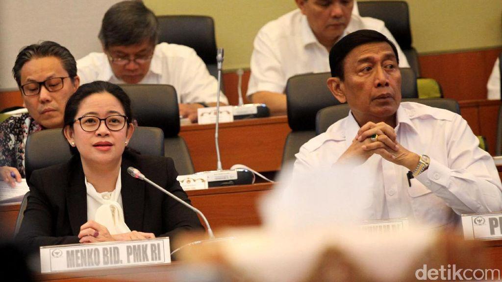 Puan, Luhut, Darmin, dan Wiranto Ajukan Anggaran Rp 1,5 T untuk 2018