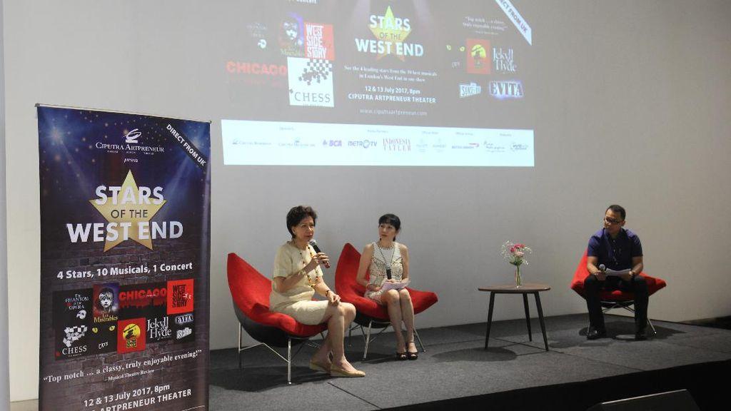 4 Bintang Utama Pertunjukan Musikal West End Hadir di Jakarta
