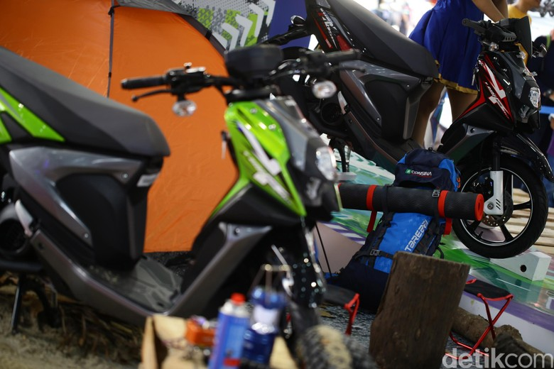 Inden Yamaha X-Ride Sampai Sebulan