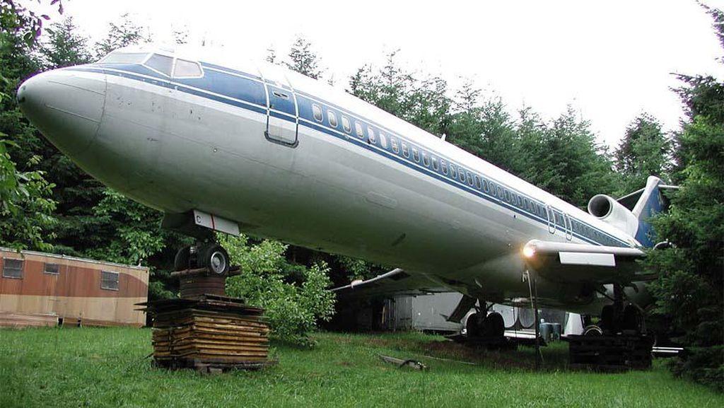 Boeing 747 Disulap Jadi Rumah di Tengah Hutan
