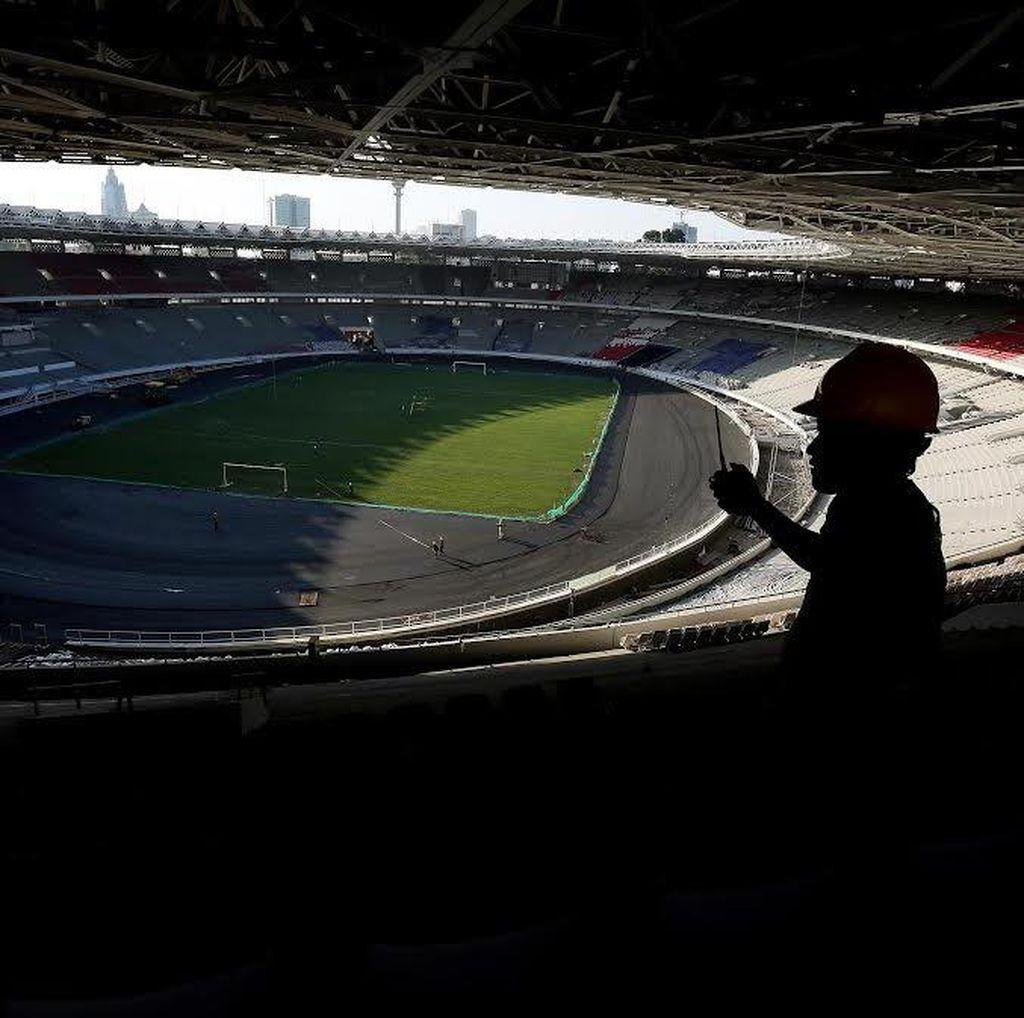 Renovasi Stadion GBK Akan Capai 70 Persen Saat Lebaran