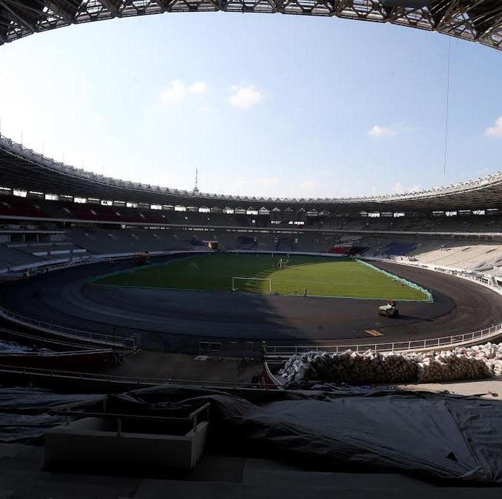 Stadion Utama Gelora Bung Karno Mulai Tunjukkan Wajah Barunya