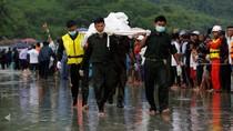 Korban Pesawat Jatuh di Pantai Myanmar Dievakuasi
