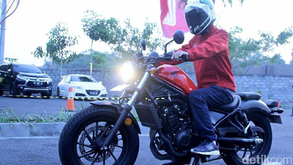 Honda Rilis Moge Cruiser CMX500 Rebel di Yogya