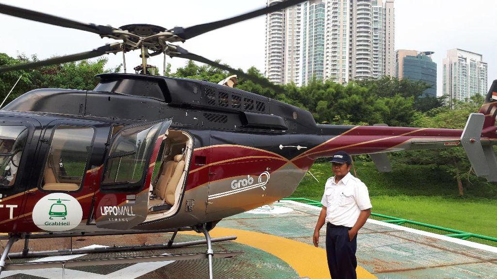 Jakarta Macet? Pesan Helikopter Saja!