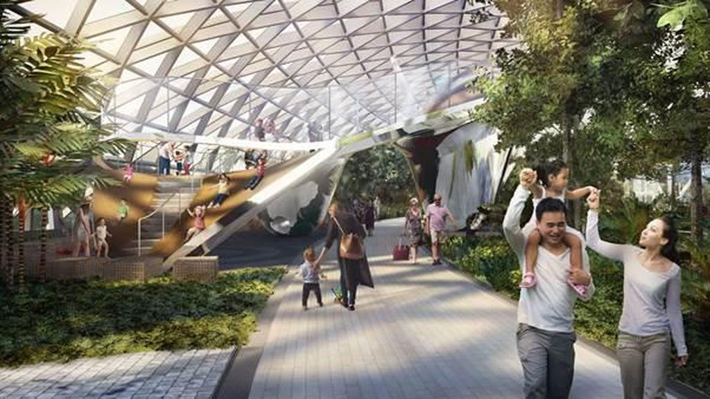 Bandara Changi yang Bukan Seperti Bandara