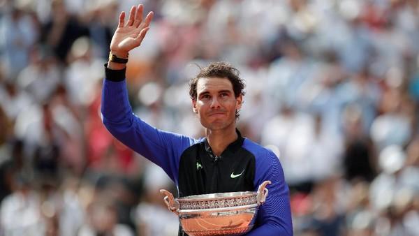 Kebahagiaan Nadal yang Tiada Bandingnya di Prancis Terbuka