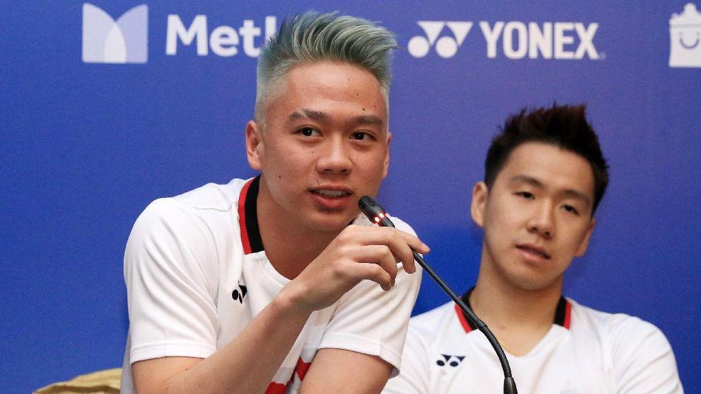 Rambut Baru Kevin Sanjaya dan Praveen Jordan