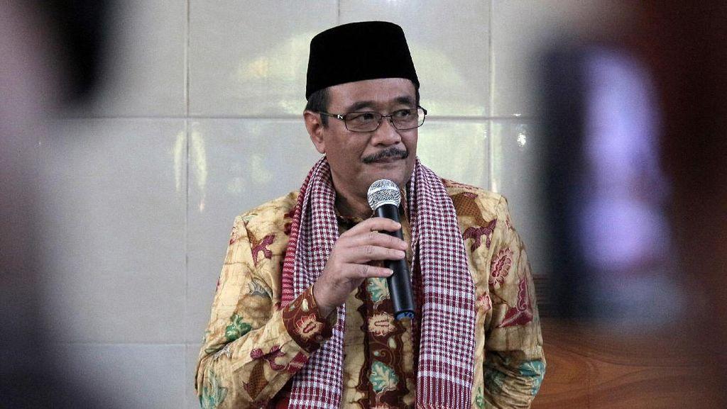 Diringi Musik Dangdut, Air Mancur Menari Monas Dibuka 12 Agustus