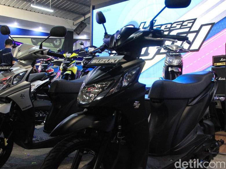 Pabrikan Lain Bermain di Motor 125 cc, Suzuki Bertahan di 110 cc