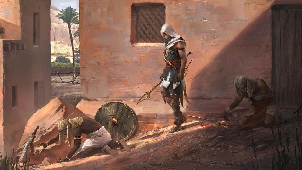 Assassins Creed Origins Sodorkan Sistem Pertarungan Anyar
