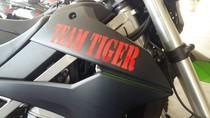 Dukung Tim Tiger Polres Jakut, Warga Pluit Sumbang Motor Trail