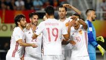 Spanyol Menang Tipis atas Makedonia