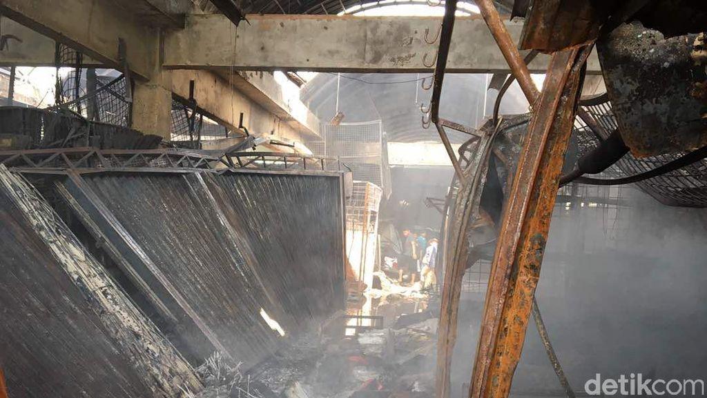 Kramat Jati Kebakaran, Mendag: Pasokan Bahan Pangan Tetap Aman