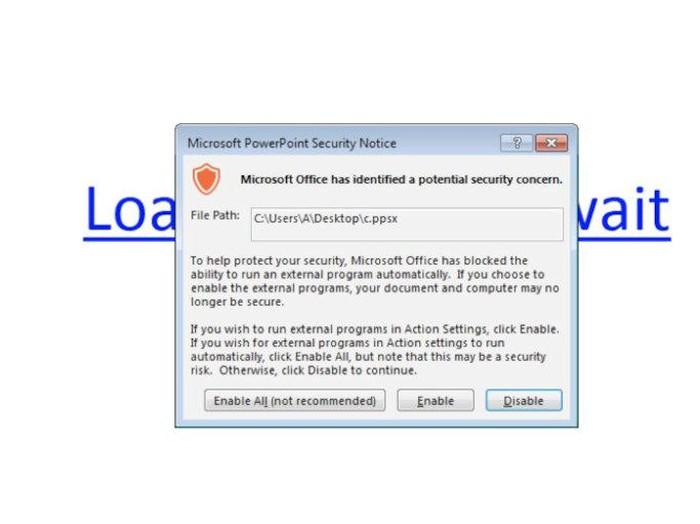 ancaman malware di powerpoint. Foto: mspoweruser