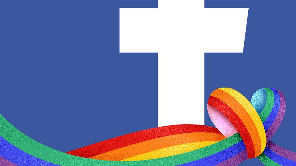 Facebook Rayakan Bulan LGBT dengan Emoji Pelangi