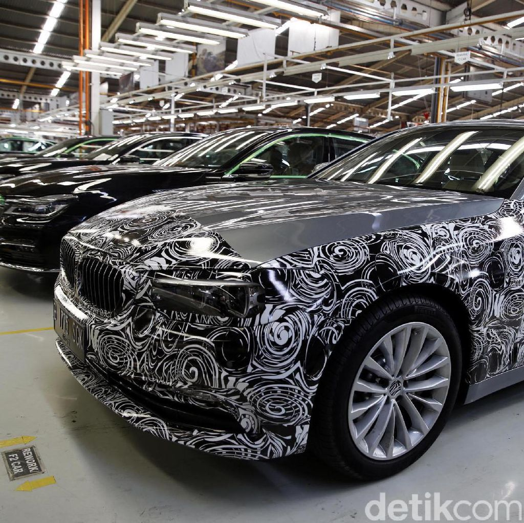 Ini Alasan BMW Seri 5 Generasi Baru Dirakit di Indonesia