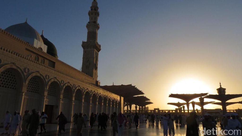 Keistimewaan Bagi Umat Islam, Melihat Sunrise di Masjid Nabawi