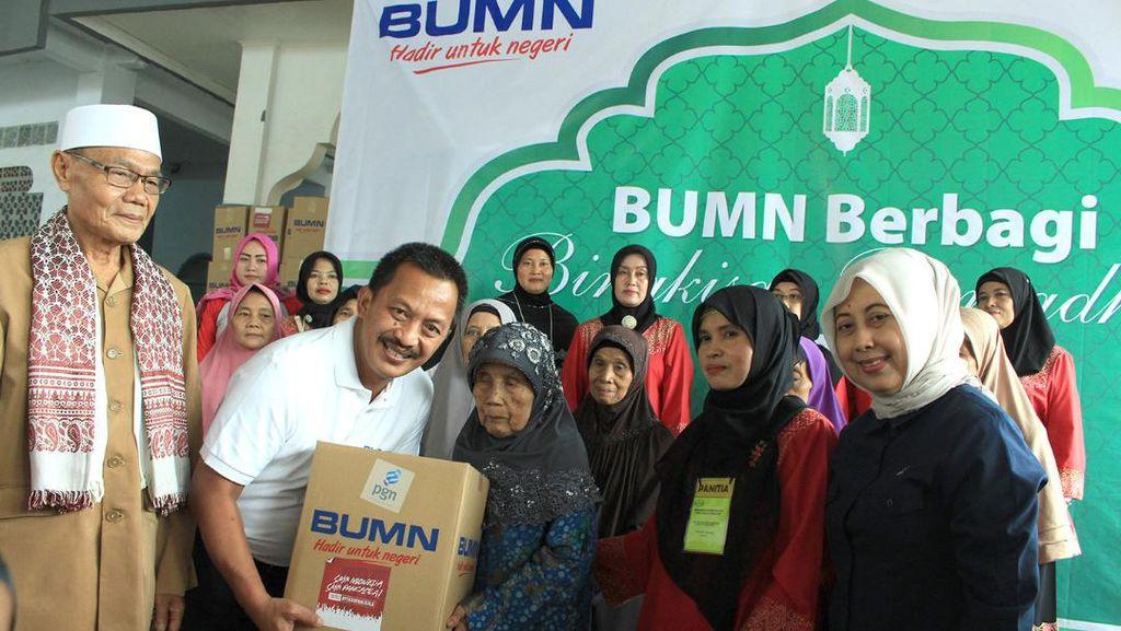 BUMN Bagikan 200 Ribu Bingkisan Ramadan di Jabodetabek