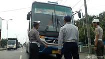 Cegah Kecelakaan Saat Arus Mudik, Bus Tak Laik Jalan Ditindak