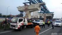 Kecelakaan Beruntun di Exit Tol Lingkar Luar Bogor, 2 Orang Luka
