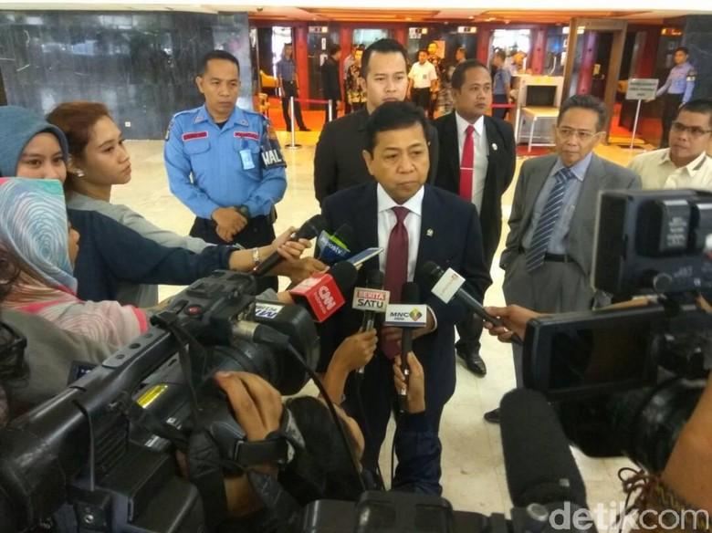 Novanto Ingin Anggota DPR Tingkatkan Sinergi dengan Media