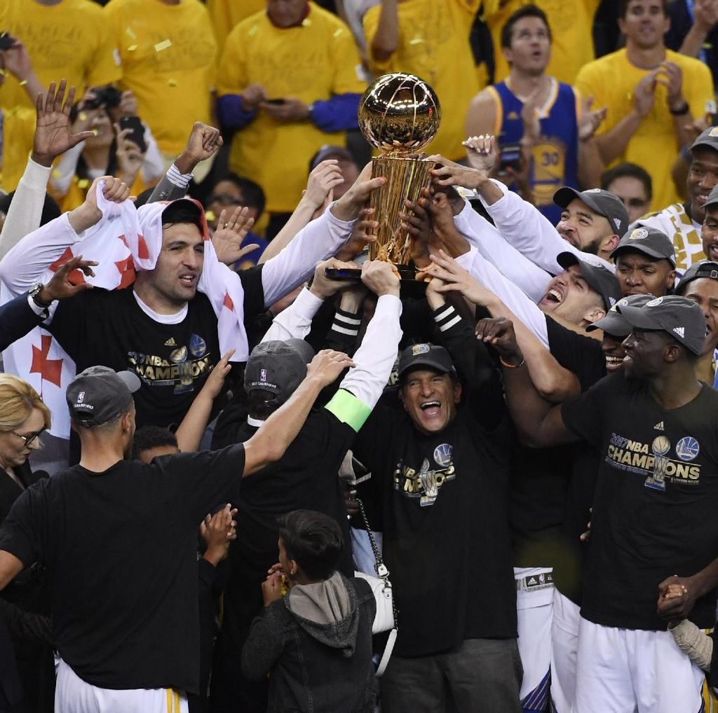 Golden State Warriors Juara NBA 2017