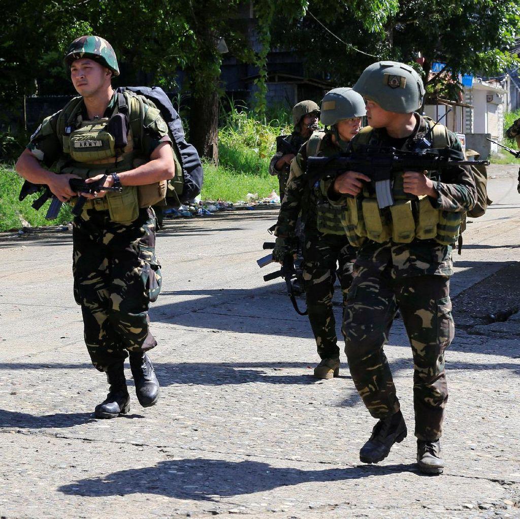 Idul Fitri, Militer Filipina Hentikan Gencatan Senjata di Marawi