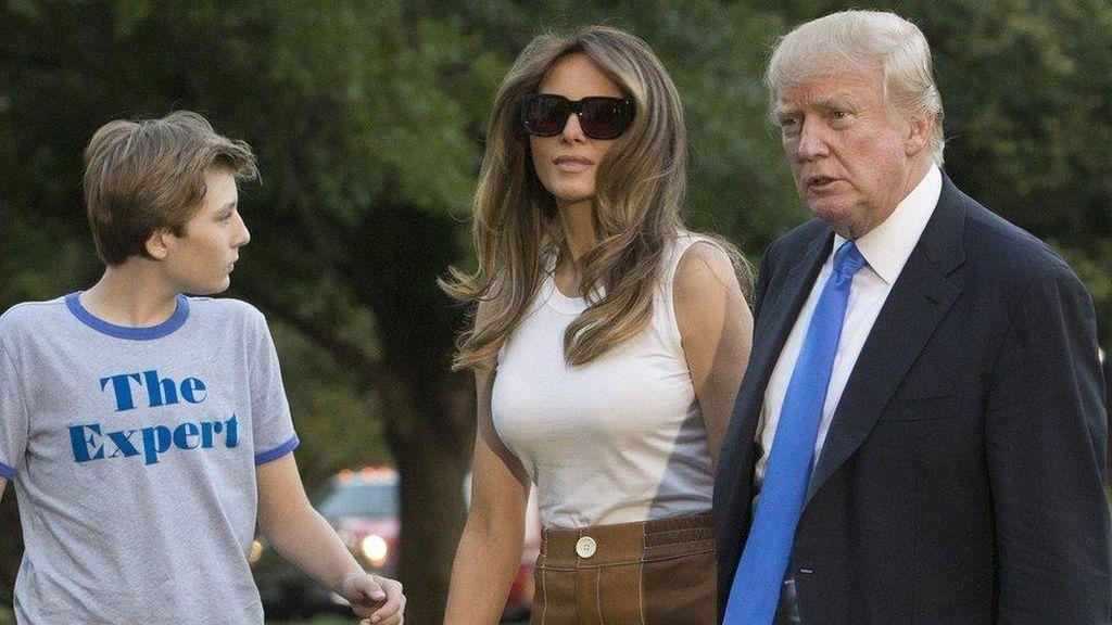 Melania Trump dan Barron Pindah ke Gedung Putih