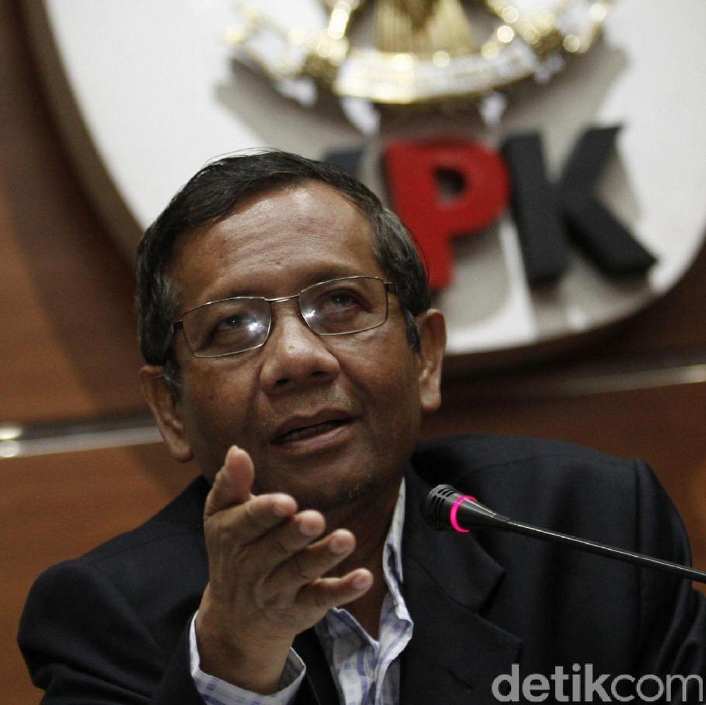 Mahfud MD: Banyak yang Galak Jatuhkan Soeharto Kini Jadi Koruptor