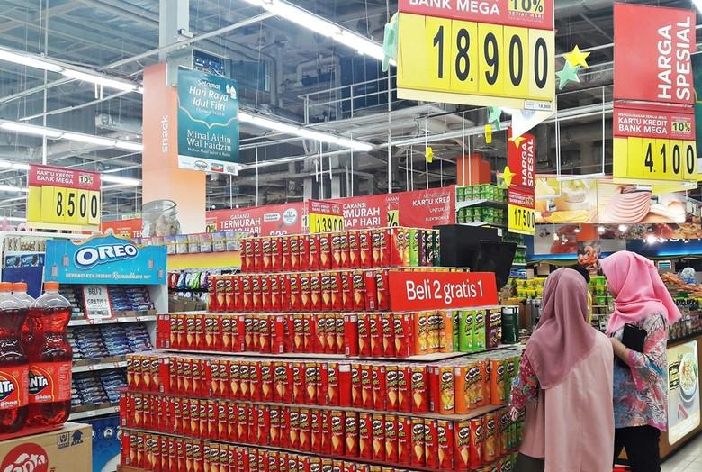 Promo Beli 2 Gratis 1 Makanan Ringan dari Transmart Carrefour