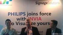 Phillips Incar Bisnis Digital Signage di Indonesia