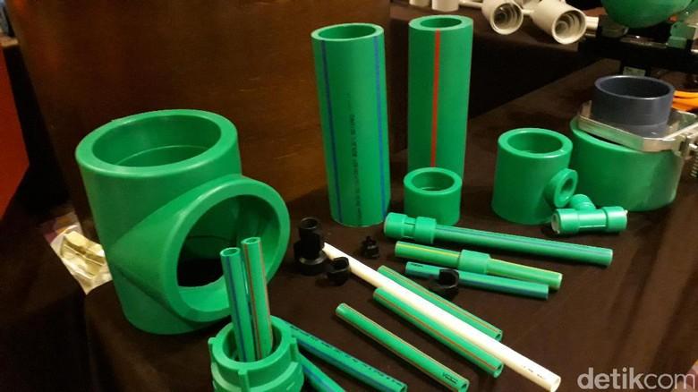 Atasi Kebocoran, Vinilon Produksi Pipa Plastik Sekuat Besi